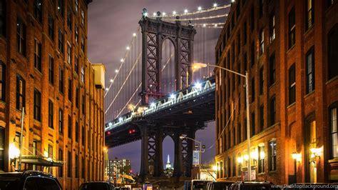 york usa manhattan manhattan bridge bridge buildings