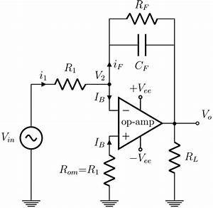 op amp integrator wikipedia With dc bias circuit