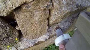 Spárování kamene