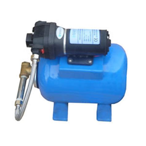 Marey Water Pressure Pump Tank Set 60psi 110 Volt Quiet