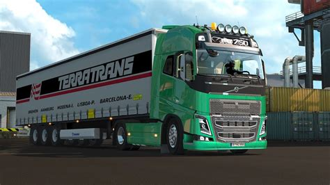 euro truck simulator  volvo stock sound  youtube