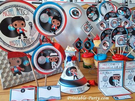 Michael Birthday Decorations - 25 best ideas about michael jackson on