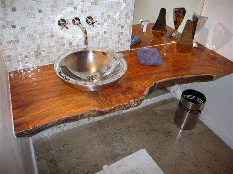 timber slab vanity wood slab vanity top floating wood