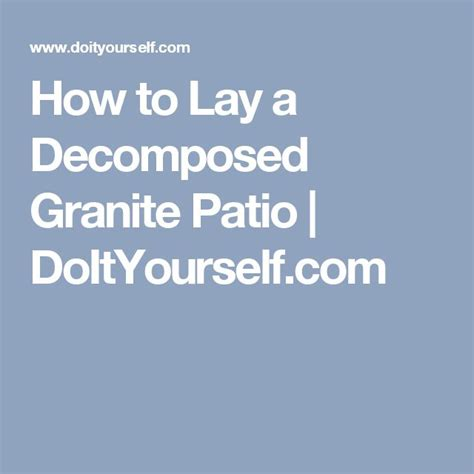17 best ideas about decomposed granite on