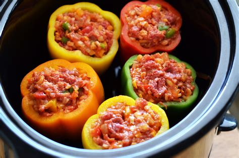 stuffed peppers sweet and sour stuffed pepper recipe dishmaps