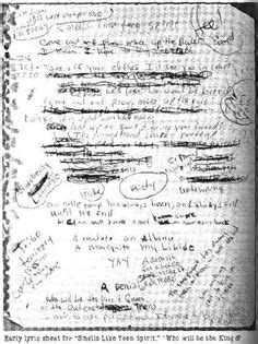 kurt cobain letter kurt cobain note every time i read this it 22673 | 88363c2901482317aa4715f769510137 cobain death kurt cobain
