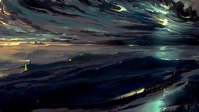 Dark Sky Night 4k Background Uhd