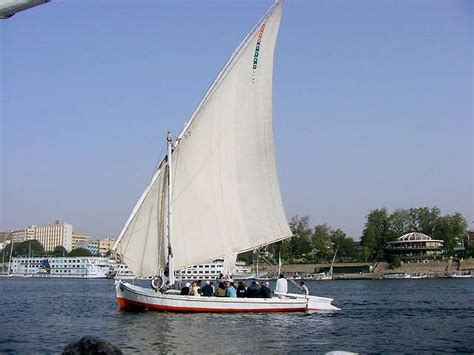 Felucca Boat by Felucca Sailing Boats Aswan Travels Tours