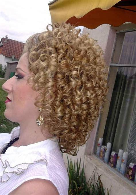 big perm razzle dazzle curls permed hairstyles short