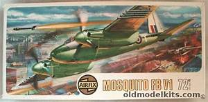 Airfix 1  72 De Havilland Mosquito F B Vi
