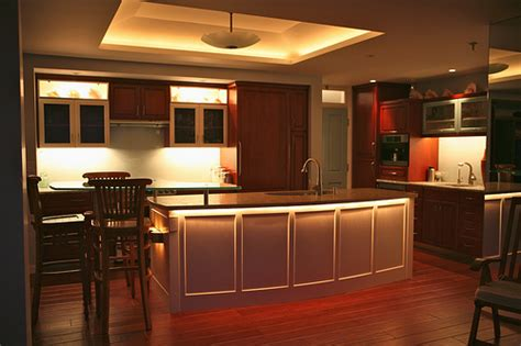 Kitchen Mood Lights by Kitchen Lighting Wright Interiors Ltd