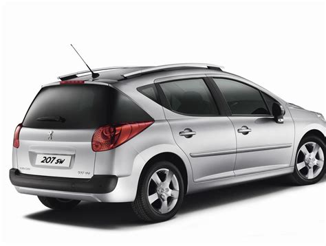 Peugeot 207 Specs by Peugeot 207 Sw Peugeot 207 Sw 2007 Car Review Honest