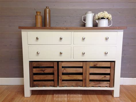 Solid Pine Sideboards for Sale, 4ft Rustic Solid Pine