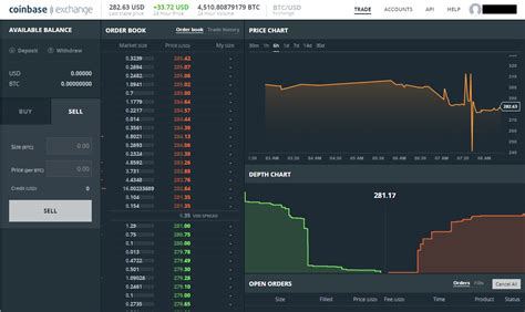 View crypto prices and charts, including bitcoin, ethereum, xrp, and more. Screenshot of Coinbase trading interface … - Bitcoin