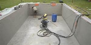 faire l39enduit d39une piscine jardipartage With enduit pour piscine beton
