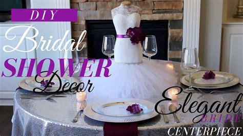 mannequin bride centerpiece wedding bridal shower