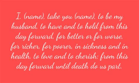 6 Wedding Vows Ideas And Examples