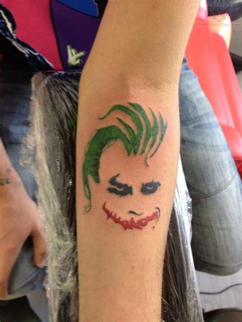 joker wrist tattoos design