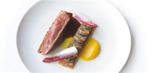 duck breast  orange puree recipe great british chefs
