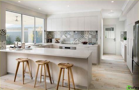 Liela un skaista virtuve - 100 stilīgi fotoattēli