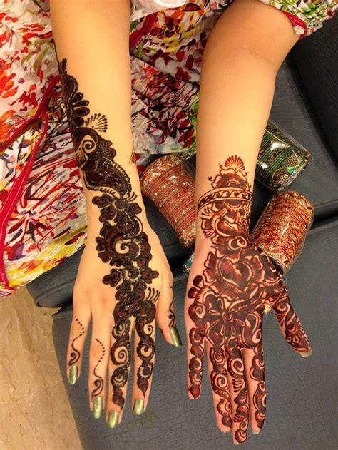 bridal mehndi day henna designs  girls xcitefunnet