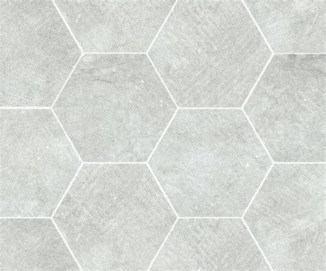 White Octagon Tile Ocean Honed With Black Dot Chair Rail