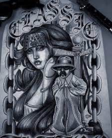 Chicano Art Drawings