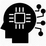 Icon Data Learning Intelligence Machine Brain Artificial