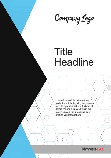 Free Cover Page Design Templates