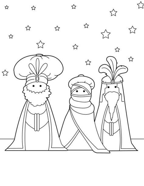 De Drie Wijzen Kleurplaat by N Kleurplaat Drie Koningen Drie Koningen