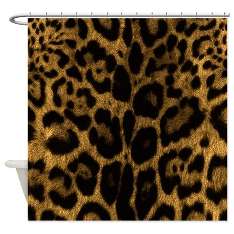 Jaguar Print by Jaguar Print Shower Curtain By Expressivemind
