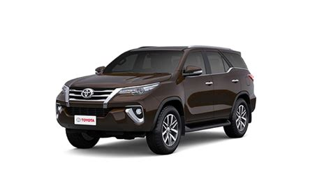 Toyota Colors by Toyota Fortuner Colours In India 7 Fortuner Colour Images