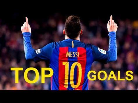 lionel messi top  magic goals   youtube