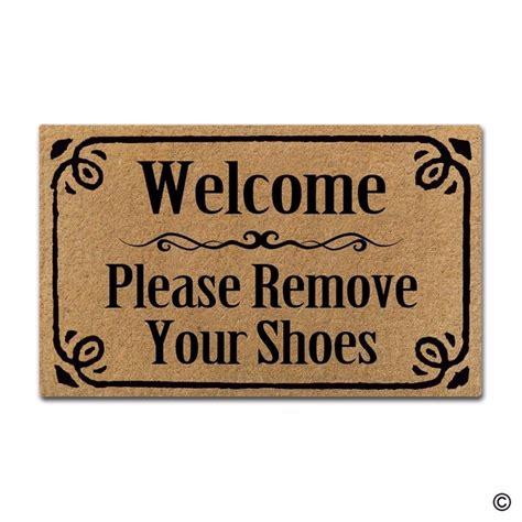 4965 remove your shoes doormat rubber doormat for entrance door floor mat welcome