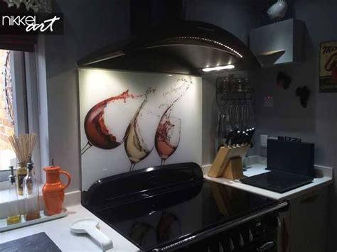 credence de cuisine en verre imprime avec  remise