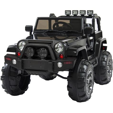 jeep truck black electric jeep for kids www pixshark com images