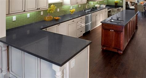 trending kitchen cabinets black countertops caesarstone 2931