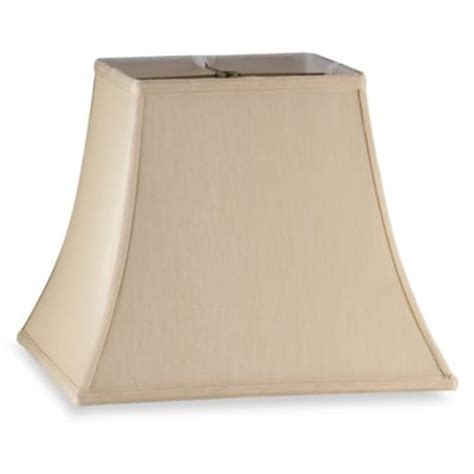 mix match large 14 inch squared bell l shade in ivory
