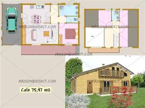 plan maison moderne 3 chambres plan gratuit de chalet en bois en kit et plan de maison bois