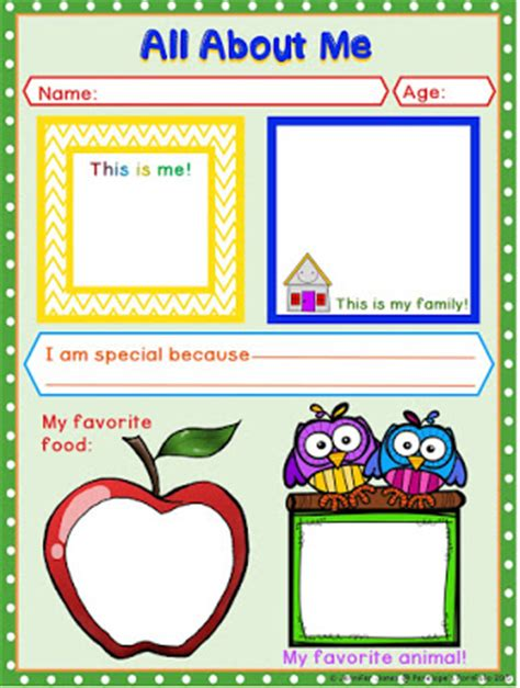 this is me art template penelope s portfolio free fun all about me printable