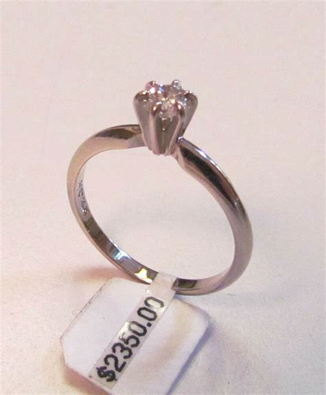 Tdr Ring 14 by Vintage 1 3 Carat Solitare Engagement Ring 14