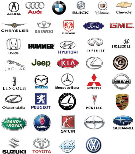 12 Car Manufacturer Icons Images