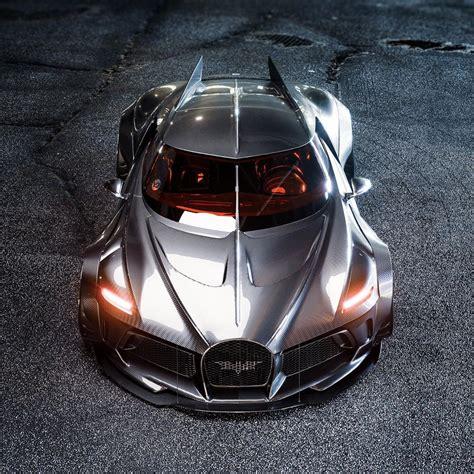 La voiture noire est une supercar gt de luxe du constructeur automobile français bugatti. Widebody Bugatti La Voiture Noire Looks Like a Batmobile - autoevolution