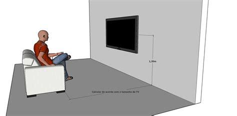 resultado de imagen  altura ideal da tv medidas