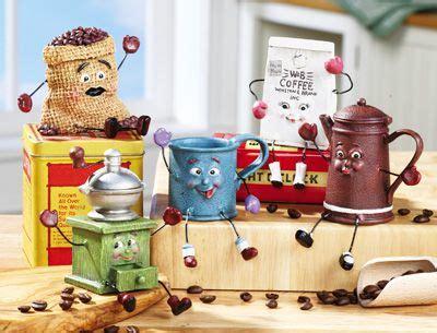 vintage coffee kitchen figurines kitchen decor themes