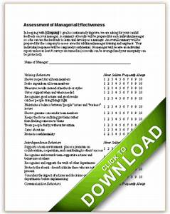 Sample Layoff Letter Assessment Of Managerial Effectiveness