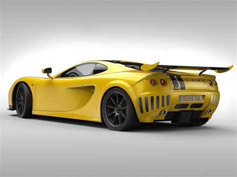 Ascari A10 3d Model In 3d Studio Max File (.max) Wavefront