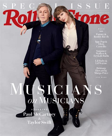 Taylor Swift Covers Rolling Stone With Paul McCartney ...