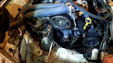 festiva water and timing belt