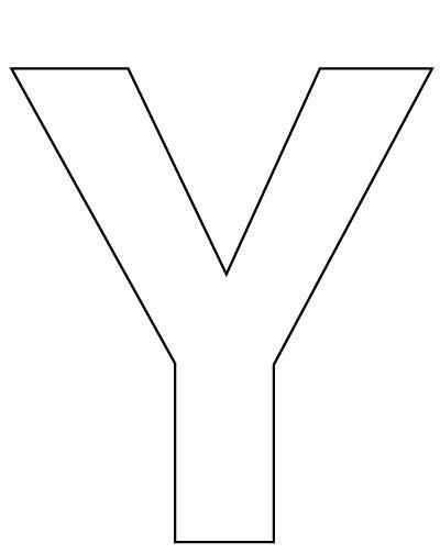 printable letters y 6 best images of printable big alphabet letters y free